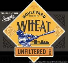 mybeerbuzz.com - Bringing Good Beers & Good People Together...: Boulevard Unfiltered Wheat - Kansas City Royals Pa...