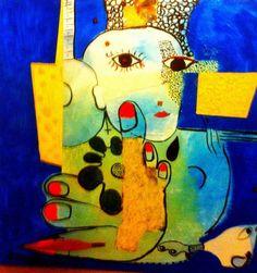 Seattle artist Leonardo Lanzolla - Self Portrait