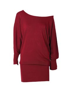 Megan Dolman Sweater Dress at Alloy- red 41.90$...want the red one!