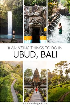 Ubud Bali is a place that must be on your Bali itinerary and your things to do in Bali list! From waterfalls to ricefields there are endless amounts of things to do in Ubud Bali! Go shopping at the Ubud Art Market take a stroll through the Tegalalang Rice Bali Travel Guide, Asia Travel, Travel Guides, Iceland Travel, Cruise Travel, Vietnam Travel, Solo Travel, Voyage Bali, Destination Voyage