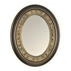Oval decorated mirror www.celebrationsbykat.com