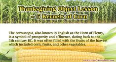 Corn itself was one of the staple foods of the Pilgrims and early settlers. The native Americans taught them how to bury a fish with the kernel of corn to act as fertilizer and speed its growth. After the first year of the Plymouth colony, only half of the 102 settlers were still alive. Times were hard. At a later harvest, after a particularly tough winter it was said that each person had only 5 kernels of corn to live on each day.