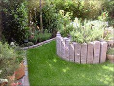 Perfect Hochbeet aus Porphyr Naturstein Garten und Landschaftsbau Schouten