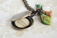 Anne of Green Gables Women's Locket  Kindred by busybeezchickadeez, $25.00