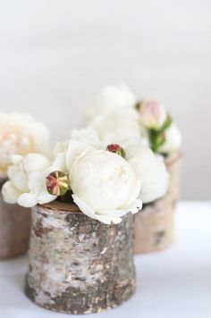 ♥ These would make BEAUTIFUL table arrangements. :)