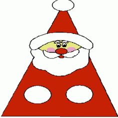 Santa craft - paper craft - plus on this page  lots of colouring pages -  They are  great to print and include inside Christmas cards for children as an extra surprise.  You can even print a few coloring pages and staple them together into a lovely coloring book that you can give to your school-friends as a gift this Christmas.