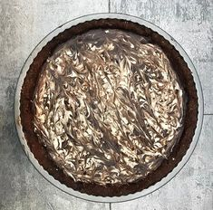Vegan & Gluten Free Chocolate & Coconut Pie - I call this the Bounty Pie not sure if Cadbury like that though