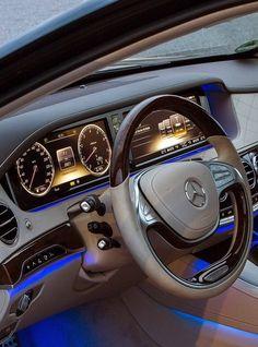 Mercedes S-class inside