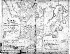 Mapa da Cidade do Rio de Janeiro em 1769