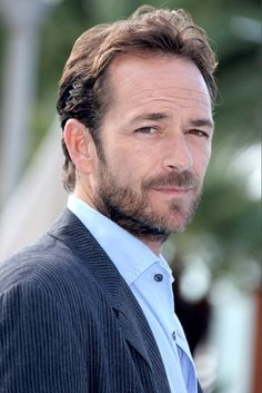 Luke Perry. Still looking pretty good but who can forget his 'sex god' appeal as 90210:Beverly Hills' Dylan Walsh!