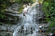 waterfall rappelling manuel antonio   - Costa Rica