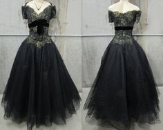 Vintage Chris Kole Gown, Chris Kole Evening Gown, Mother of the Bride, Wedding, Designer Evening Gown, Vintage Black Dress, Black Dress