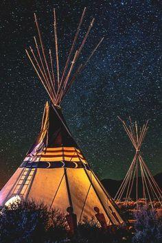 Starry Sky & Tepee Lights