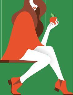 Vergine ilustracion: Emmanuel Romeuf