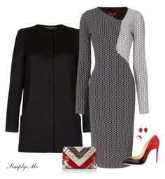 Louboutin Pumps by simplyme51 on Polyvore featuring polyvore, fashion, style, Roland Mouret, Christian Louboutin, Rebecca Minkoff, Baccarat, LoveBrightJewelry and clothing