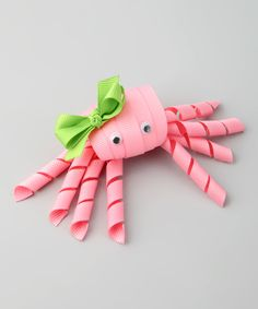 Look at this #zulilyfind! Light Pink Crab Clip by Nantucket Girl #zulilyfinds
