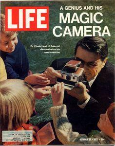 Polaroid SX-70, the magic camera