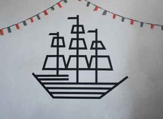 DIY Pirate Ship | 10 Ways To Get Decorative With Washi Tape