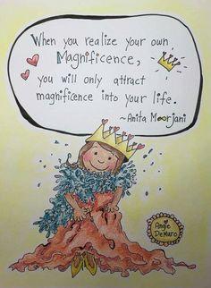 Anita moorjani Anita Moorjani, When You Realize, Uplifting Quotes, Spiritual Awakening, Good Advice, I Am Happy, Affirmations, Spirituality, Love You