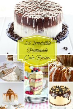 26 Irresistible Homemade Cake Recipes