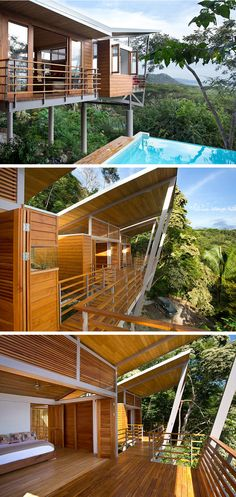 An Architect Designed Holiday House That Overlooks The Costa Rican Jungle