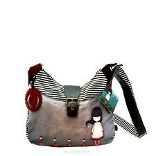 Gorjuss Woollen Slouchy Bag Last Rose by Santoro - 221LR - BRAND NEW!