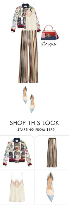 """""""Untitled #891"""" by krahmmm ❤ liked on Polyvore featuring Gucci, Missoni, Zadig & Voltaire and Gianvito Rossi"""