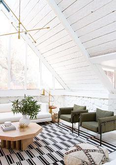living room renovation // before & after // sarah sherman samuel
