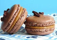 5 perc hírnév: Sós mogyorós macaron - édesem Macarons, Muffin, Breakfast, Food, Morning Coffee, Essen, Macaroons, Muffins, Meals