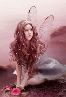 Explore the Fairies, elves, angels etc. collection - the favourite images chosen by on DeviantArt. Fairy Dust, Fairy Land, Fairy Tales, Magical Creatures, Fantasy Creatures, Elfen Fantasy, Kobold, Fairy Pictures, Love Fairy