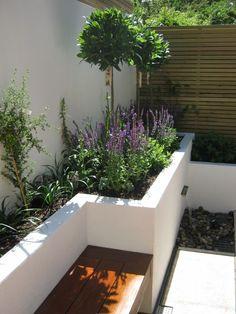 Raised Beds: Why Every Modern Garden Should Have Them — Verve Garden Design - New ideas Garden Design Plans, Modern Garden Design, Backyard Garden Design, Backyard Landscaping, Backyard Ideas, Rectangle Garden Design, Contemporary Garden, Modern Design, Back Gardens