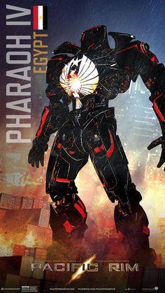 Fan art #Jaeger #Mecha #Mech #Robot #PacificRim #PacificRimIT