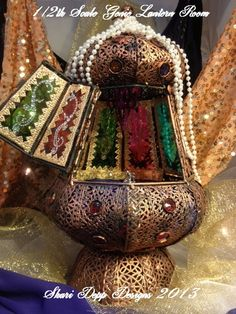 One of a Kind Genie Lantern Room for 5 inch by ShariDeppDesigns, $225.00