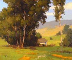 Rolling Hills in Watsonville by Brian Blood Oil ~ 20 x 24