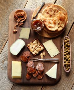 Spanish Cheese Board