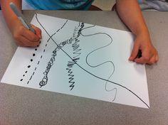Art lesson on line