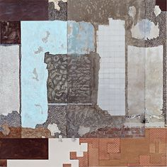 Clay Ketter  There is, 2006, 120 x 120 cm, mixed media