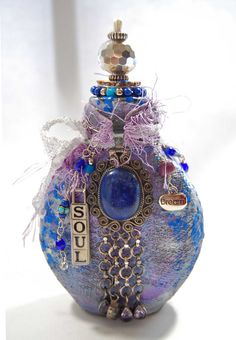 Altered Art Bottle | Flickr - Photo Sharing!