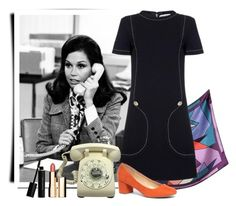 """""""Mary Tyler Moore"""" by beetlescarab ❤ liked on Polyvore featuring Laura Biagiotti, Jean Patou, Dorothy Perkins, Clarins, Elizabeth Arden, TVStyle, legend, Fashionicon and MaryTylerMoore"""