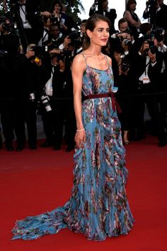 Charlotte Casiraghi in a Gucci Gown - 'La Tete Haute' Red Carpet - The 68th Annual Cannes Film Festival #Cannes2015