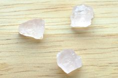 Special Price High Quality 7.25 CT 3 PCs Rose Quartz Rough Natural Gemstone Africa by JEWVARY on Etsy