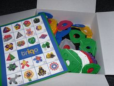 We received a Triqo Box Set which had 100 pieces in it to review for my six year old daughter.
