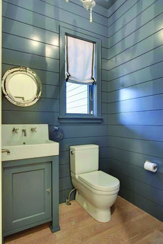 Impressive shiplap bathroom fixer upper on this favorite site