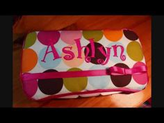 How to Make Custom Travel Nappy Wipes Case. These make gorgeous gifts