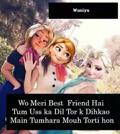 Awww.... So sweet of tht friend