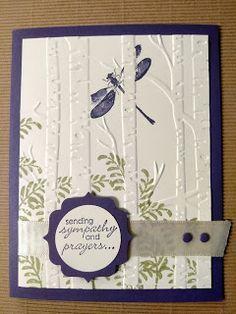 StampTheLove: Woodland Embossing Folder fun!