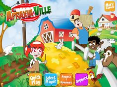 Apraxia Ville {app review} - Pinned by @PediaStaff – Please Visit ht.ly/63sNtfor all our pediatric therapy pins