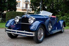 Duesenberg deep blue McFarlan X  1927 Speedster