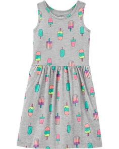 Ice Pop Jersey Dress Ice Pop Jersey Dress Giovanna Cerdas Le n giocl Outfits para Vale Kid Girl Ice Pop Jersey Dress from Carters Shop nbsp hellip Dresses Kids Girl, Toddler Girl Outfits, Kids Outfits, Cute Summer Outfits, Cool Outfits, Carter Kids, Baby Clothes Shops, Babies Clothes, Nice Dresses