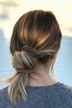 5 Hairstyles That Require Zero Curling Iron Skills via @PureWow
